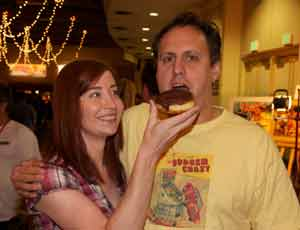 jeri ellsworth matt wash donuts pacific pinball expo