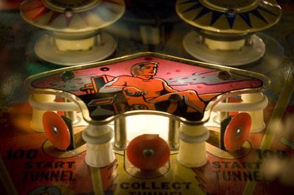 vintage pinball machine melanie nelson photograph ca extreme bumper