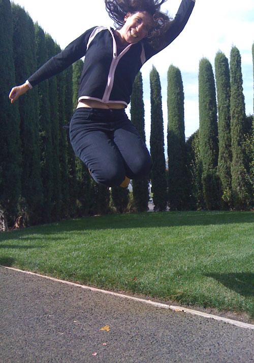 anna jumps