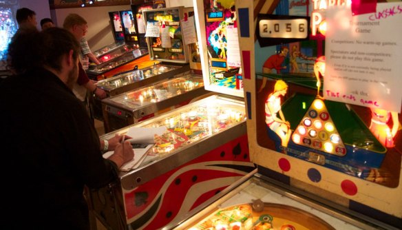 EM games in Pacific Pinball Expo Tournament