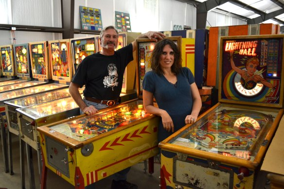 dan kramer and anna with dan's games