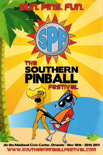 Southern Pinball Festival Poster
