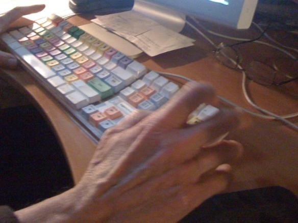rick lecompts editing keyboard