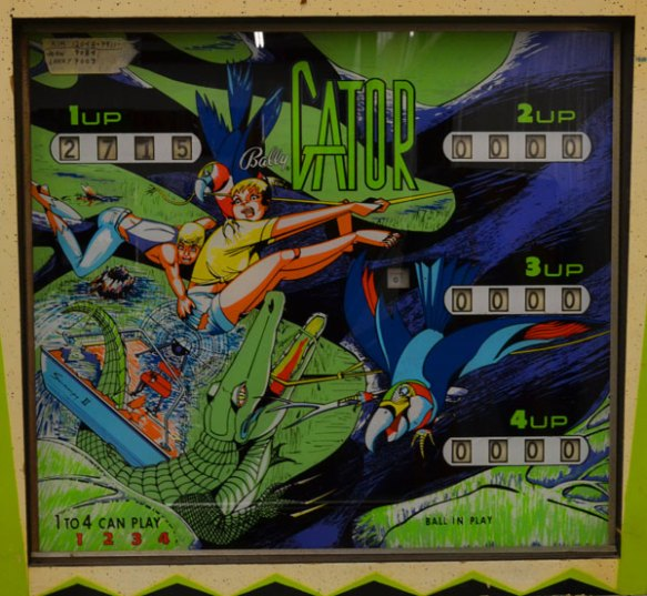 gator pinball machine