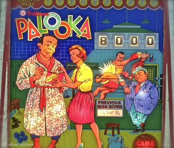 Palooka backglass