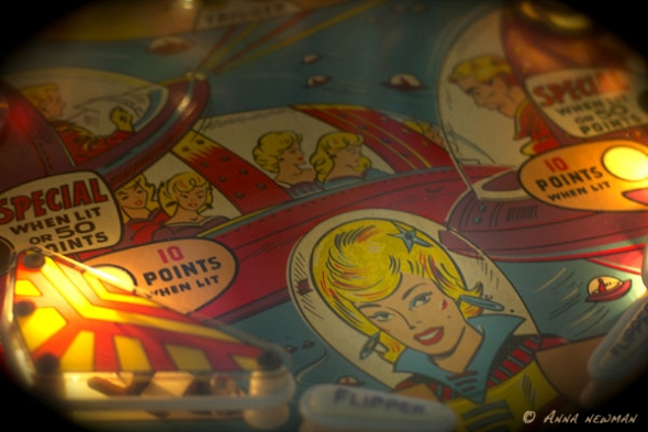 Star Jet playfield