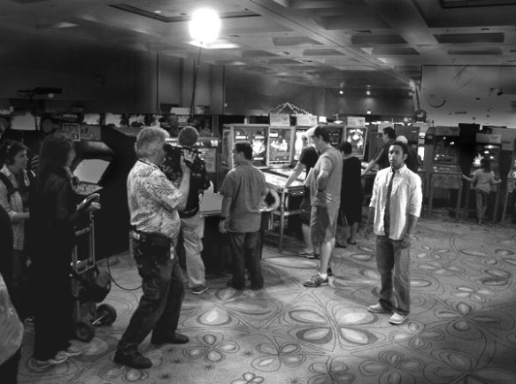filming at CAX 2011