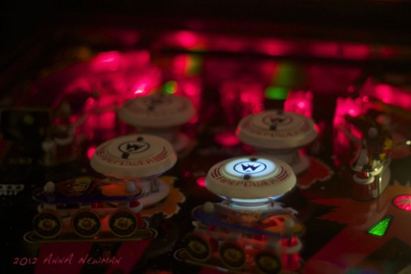 firepower pinball playfield detail