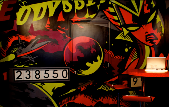 annanewman-kickback-cafe-mural